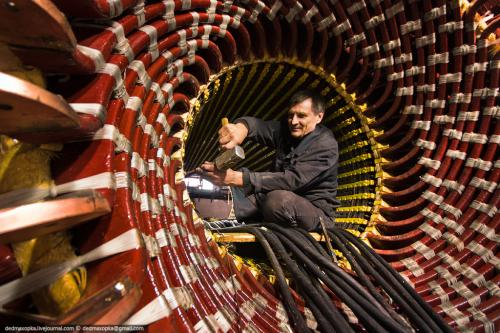 Изготовление статора турбогенератора ТФ-45