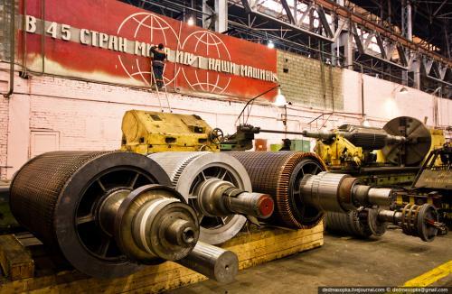 Ротора электродвигателей серии АВЦ и АДО до механической обработки.