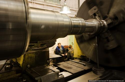 Обработка ротора