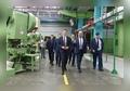 На Сарапульском электрогенераторном заводе возобновил работу модернизированный механо-штамповочный цех